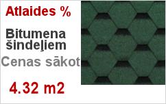 Bitumena šindeļi Technonicol