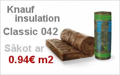 Knauf insulation classic 042